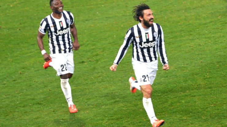 Video: Feast your eyes on Andrea Pirlo's stunning free kick