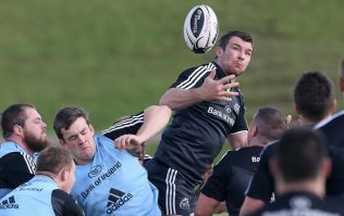 Peter O'Mahony returns to Munster team for Friday night's clash against the Scarlets