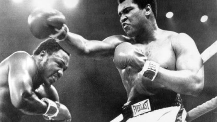 We take a look back at the 'Thrilla in Manilla' between Muhammad Ali and Joe Frazier, which is 39 years old today