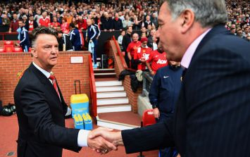 Sam Allardyce 'disappointed' Louis van Gaal didn't invite him for a glass of wine last weekend