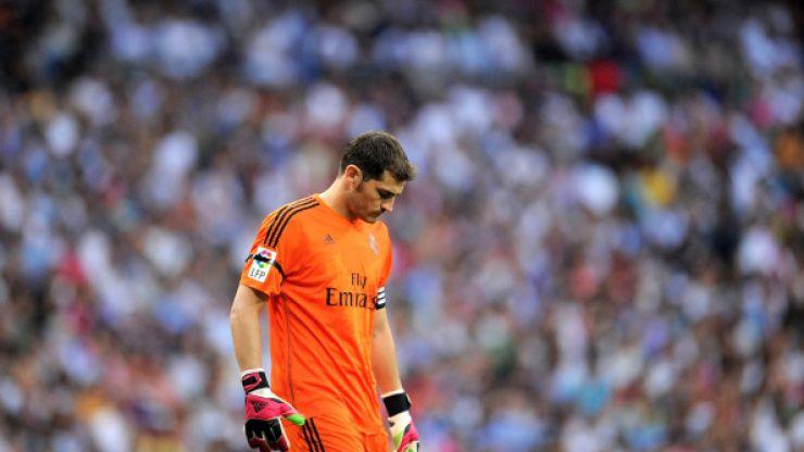 Vine: Iker Casillas' blunder for Spain last night was not pretty