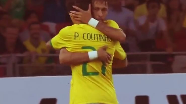 Video: Check out Philippe Coutinho's brilliant assist for Neymar today