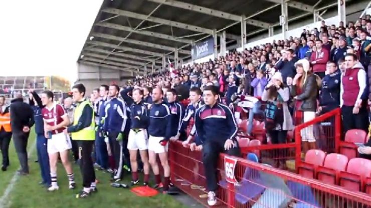 Video: This sums up exactly what winning a county final means to a GAA club