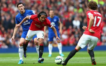 Vine: Radamel Falcao scores his first goal for Manchester United
