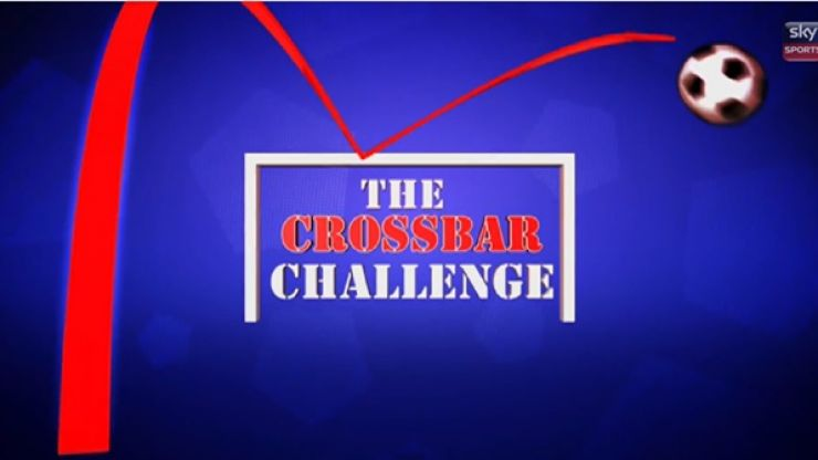 Video: Gibraltar have a go at the Soccer AM crossbar challenge