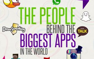 Pic: This infographic about the people behind the biggest apps in the world is seriously interesting