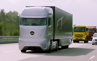 Video: Mercedes-Benz is working on a futuristic looking self-driving truck