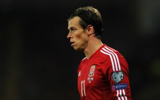 Vine: Gareth Bale provided a beautiful assist and nearly broke the crossbar for Wales this evening