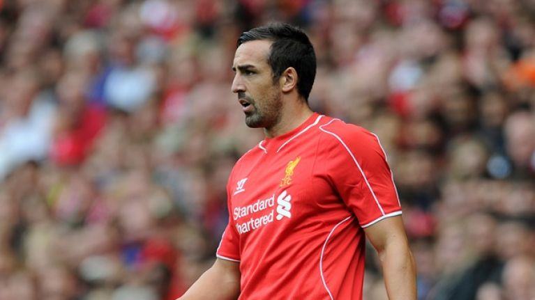 Pic: Liverpool's Jose Enrique accidentally posts naked selfie on Twitter