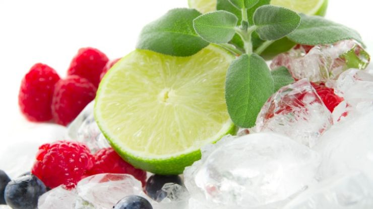 Tasty and easy to make protein recipes: Amino Energy fruit fusion ice-cubes