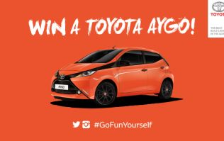CLOSED: Win: Go Fun Yourself for your chance to win a new Toyota AYGO & JOE's favourite entry will win €250