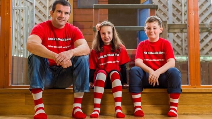 Celebrate the 10th Anniversary of the Ronald McDonald House Charity with Shane Jennings