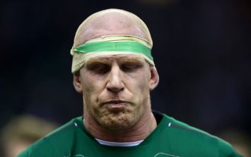 PICS: Emotional Irish fans pay their respect as Paul O'Connell plays final home game on Irish soil