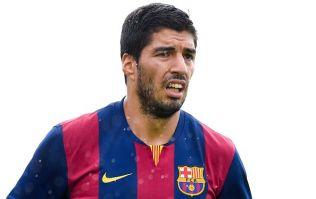 Vine: Luis Suarez has scored twice on his Uruguayan comeback against Oman today