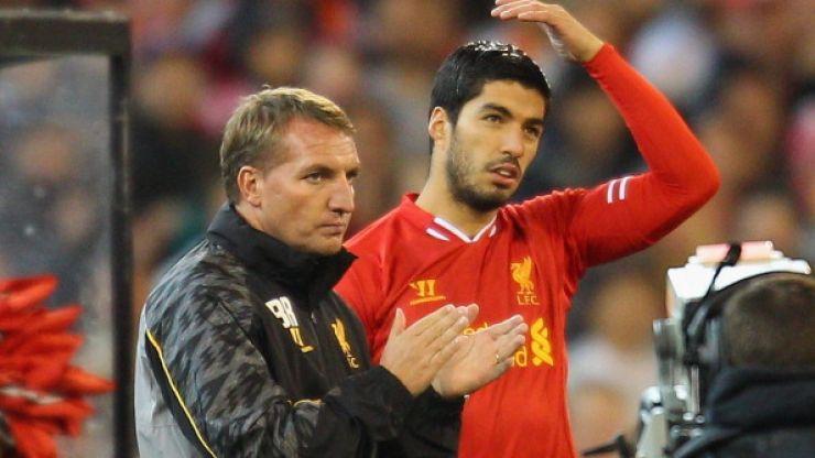 Luis Suarez describes life under Brendan Rodgers in new book