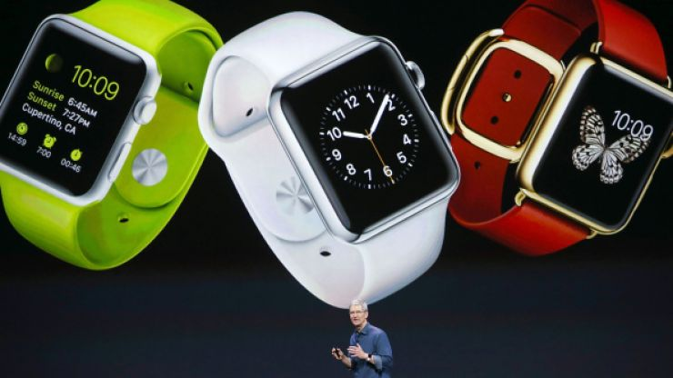 Irish start-up blocks Apple from calling their latest device the 'iWatch'