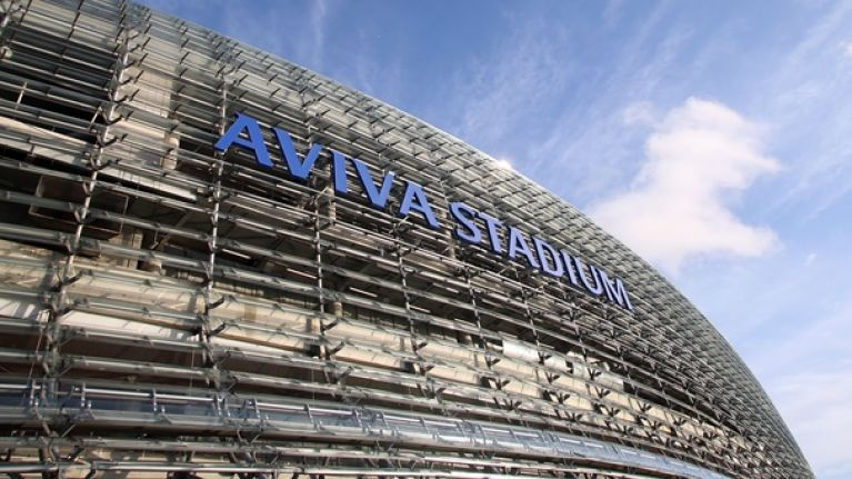 Pic: One of the most stunning photos of the Aviva Stadium we've ever seen