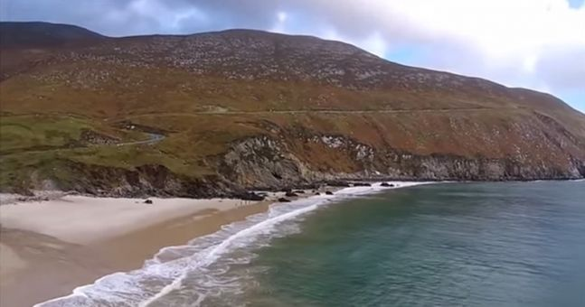 Video: This drone footage of the beautifully scenic Achill Island is just wonderful