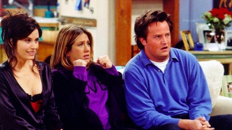 Jennifer Aniston describes her idea of a modern-day Friends episode