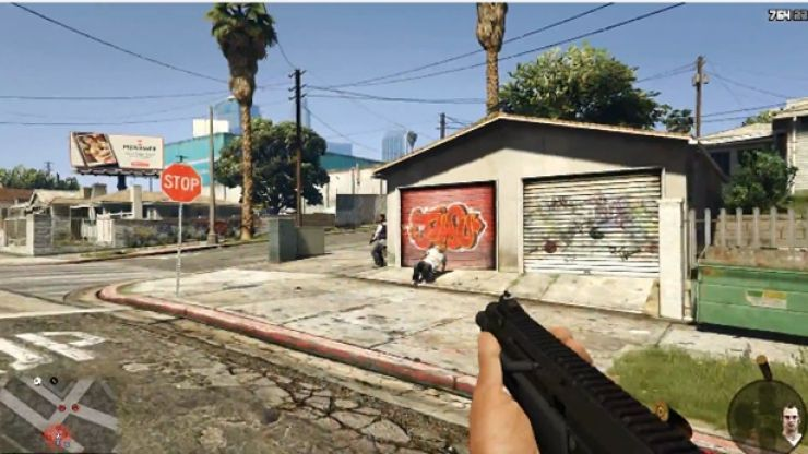 Video: Holy crap! Grand Theft Auto V is set to have a first person shooter mode