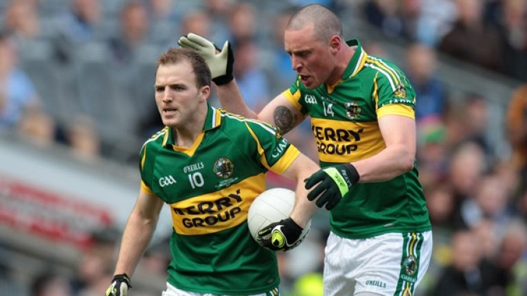 Pic: Pure class from Kieran Donaghy as he consoles Darran O'Sullivan after yesterday's