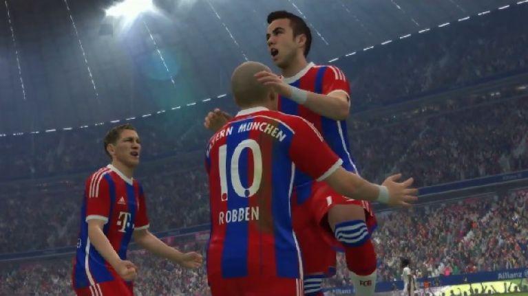 Video: Bayern's Mario Gotze stars in the new Pro Evolution Soccer 2015 trailer