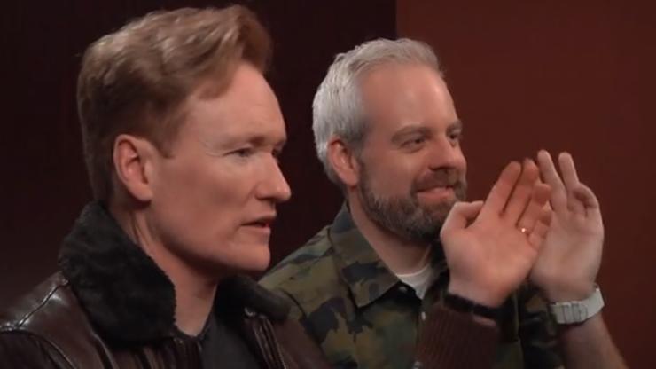 Video: 'Clueless Gamer' Conan O'Brien reviews Assassin's Creed Unity