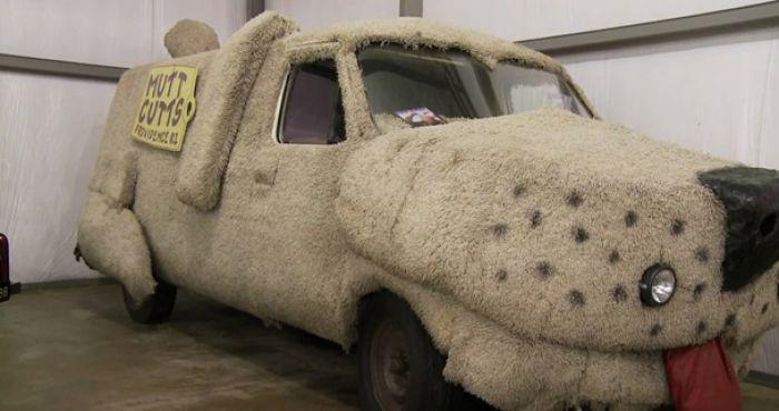 Hollywood Drive Of Fame Dumb Dumbers Mutt Cutts Van