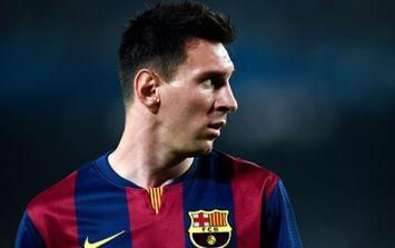 PIC: We're a little bit jealous of Lionel Messi's pyjamas