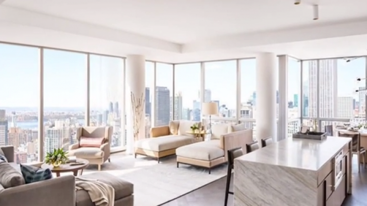 Video: Tom Brady's New York apartment is up for rent, and it is fantastic