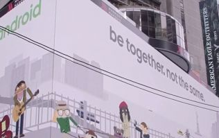 Video: Look at the size of the interactive Google ad that's currently dominating Times Square