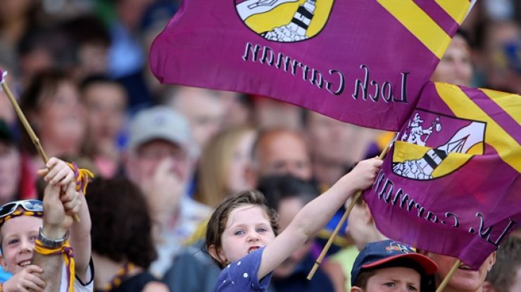 Pic: Wexford woman pens amazingly heartfelt letter thanking the Wexford hurlers for giving her Dad 'one last great memory'