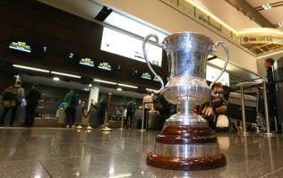 Pics: David Moran plays the Ashley Cole role as the Irish International Rules squad head Down Under