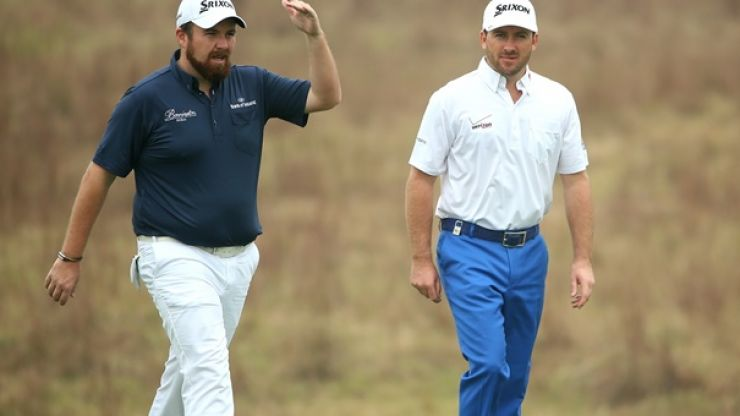 Pic: Shane Lowry's Thanksgiving message for Graeme McDowell is a dinger