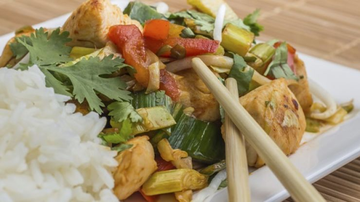 Tasty and easy to make protein recipes: Chicken stir-fry
