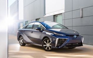 Toyota's new 'Mirai' hydrogen powered car can power a house in an emergency