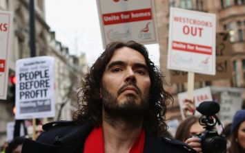 Russell Brand is going to sue The Sun and give the proceeds to the JFT96 campaign if he's successful