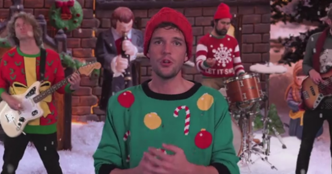 The Killers Christmas song with Jimmy Kimmel is actually fantastic ...
