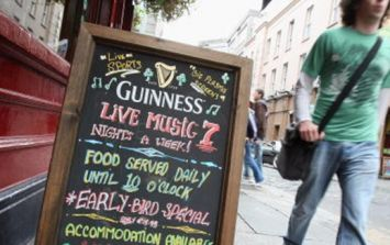 PICS: This Irish bar in Vancouver has a risqué Oliver Cromwell-themed sign out front