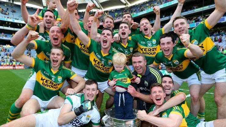 Pic: This is the jersey All-Ireland Champions Kerry will wear in 2015