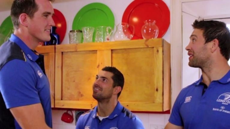 Leinster Rugby 'Scrum Dine with Me' in association with Optimum Nutrition: And the winner is…
