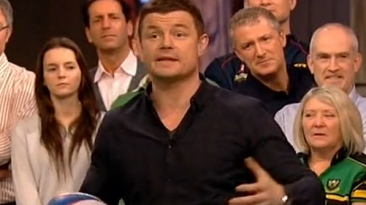 Video: Brian O'Driscoll recreated THAT famous pass to himself on BT Sport tonight