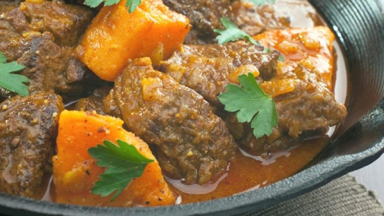 Tasty and easy to make protein recipes: Beef and sweet potato stew