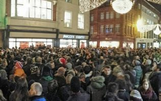 Pics/Vines: Glen Hansard, The Script and Damien Rice are all singing on Grafton Street this evening