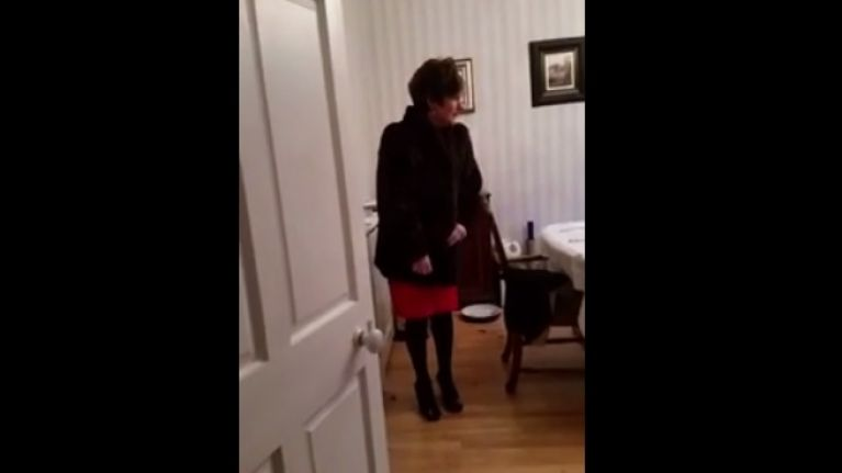 Video: Irish mammy thinks the dog ate the Christmas ham, her reaction is gas and very NSFW