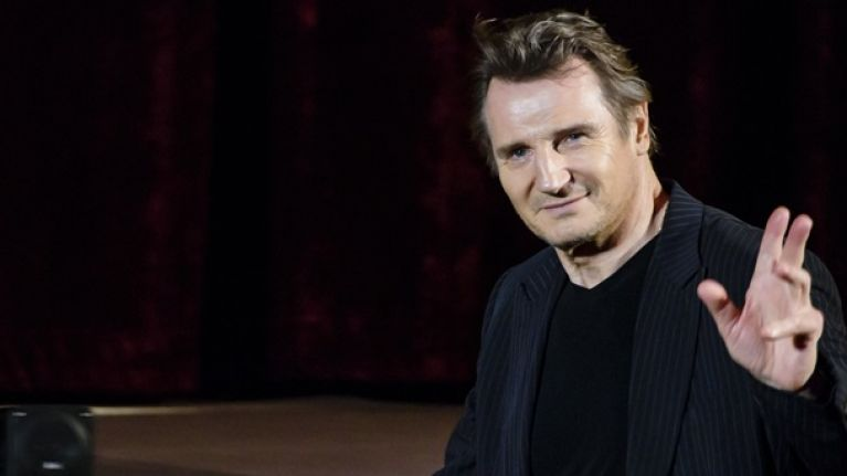 Liam Neeson on the water charges: 'Don't f**king insult the