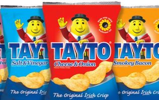 PIC: There were packets of Tayto crisps available for fans at a Dara O'Briain gig in Sydney Opera House