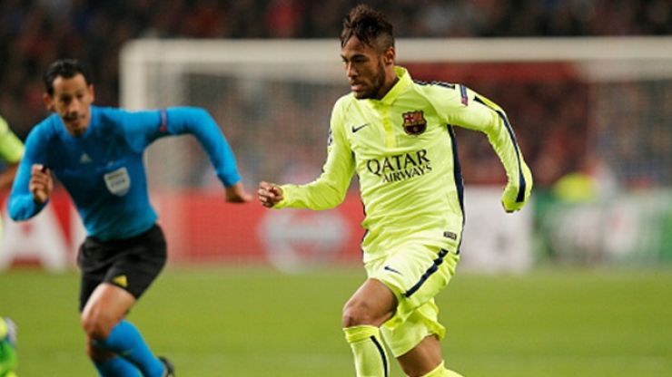 Vine: Wow! Neymar scored a ridiculously great goal in a charity match in Brazil last night