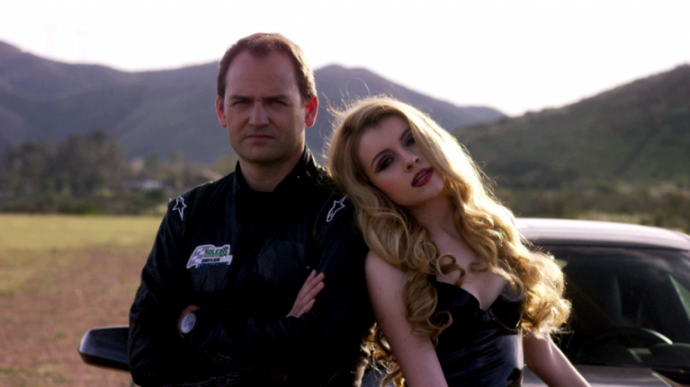Video: Former Top Gear Stig Ben Collins stars as the main love interest in this pop video