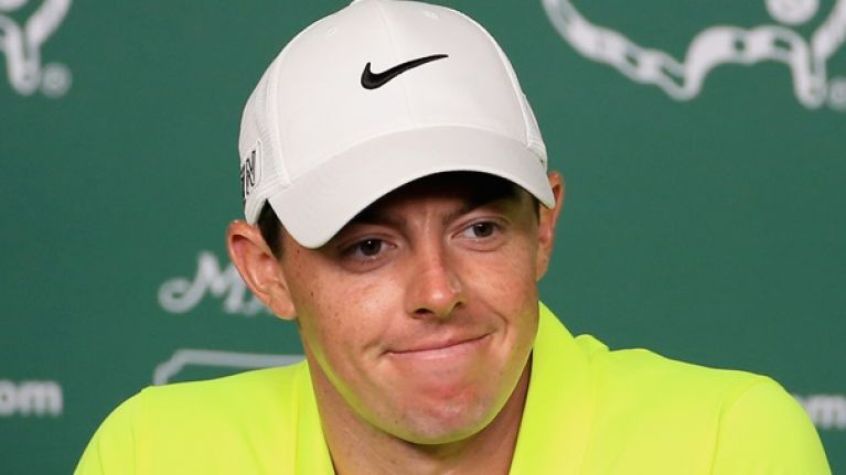 PIC: Rory McIlroy has heaped praise on Conor McGregor after his remarkable UFC victory